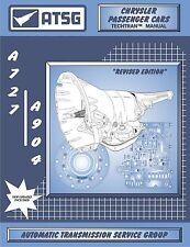 ATSG Dodge A727 TF8 36RH 37RH A904 30RH 31RH 32RH Transmission Rebuild Manual