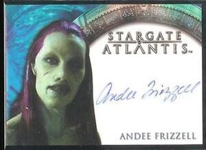 Stargate-Atlantis-Season-2-Autograph-Auto-Andee-Frizzell-Queen