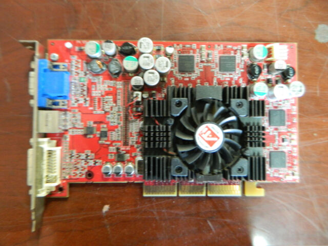 AGP card ATI Radeon 109-94200-30 Rev A02 1029421933 DVI TV VGA