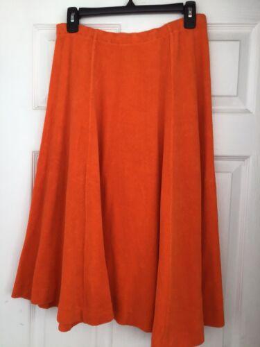 Vintage 70s Bill Atkinson Orange Terry Cloth Pull