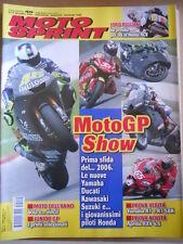 MOTOSPRINT n°49 2005  Test Yamaha R1 R1 SBK Aprilia RXV 4.5   [P66]
