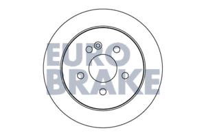Bremsscheibe 2 Stück Eurobrake 5815203354