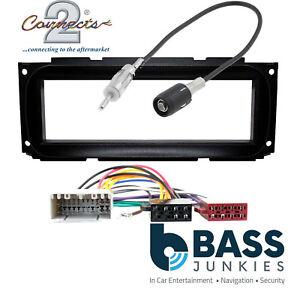 Chrysler Grand Voyager 02-07 Single DIN Car Stereo Facia Panel Radio Fitting Kit