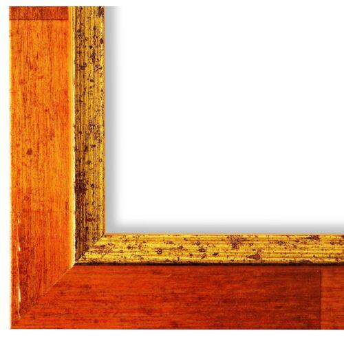 Bilderrahmen Orange Gold Catanzaro 9x13 10x10 10x15 13x18 15x20 18x24 20x20