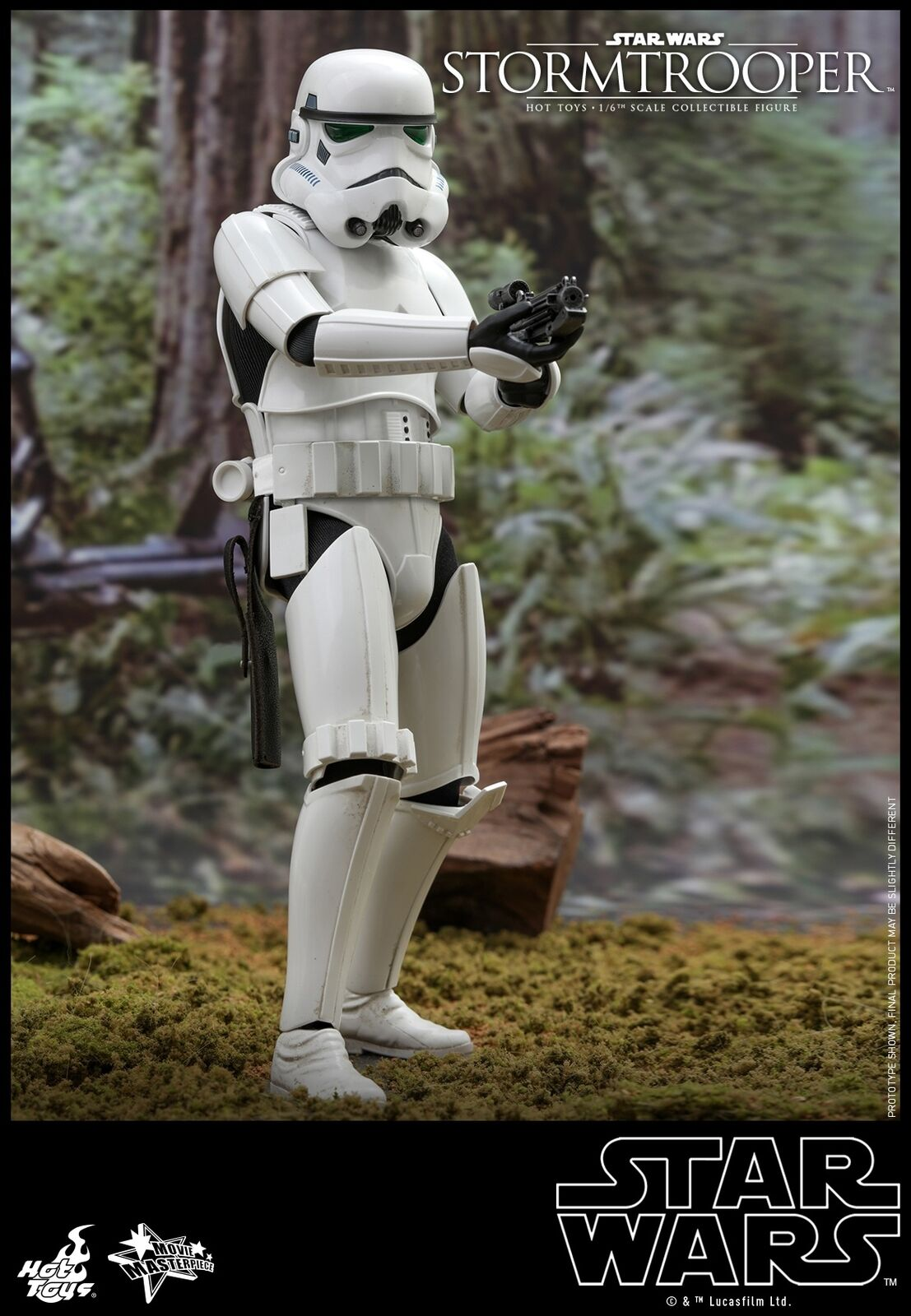 Hot Toys Star Wars 1 6th scale Stormtrooper Collectible Figure MMS514