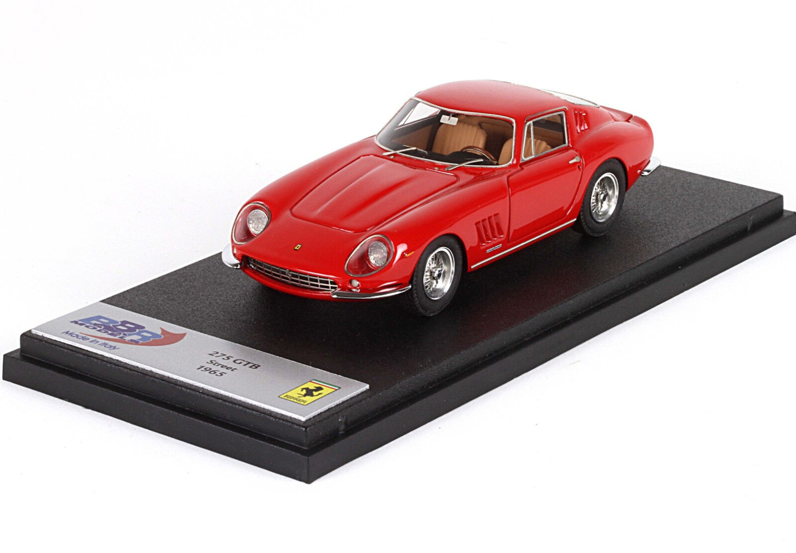 Ferrari 275 GTB Red 1965 1/43 Made in Italy Italy Italy  BBR60A BBR Models | Larges Variétés  142112