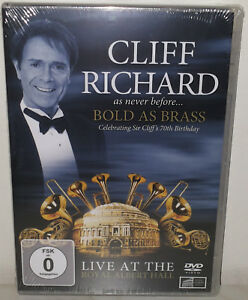 DVD-CLIFF-RICHARD-BOLD-AS-BRASS-NUOVO-NEW