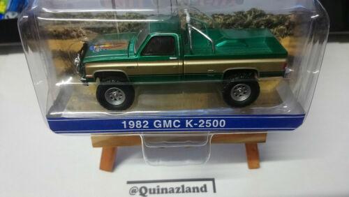 Greenlight Hollywood Falluy 1982 Gmc K-2500 Chase green N46