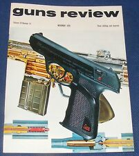 GUNS REVIEW MAGAZINE  NOVEMBER 1970 - LEATHER VERSION OF THE DAGG PISTOL