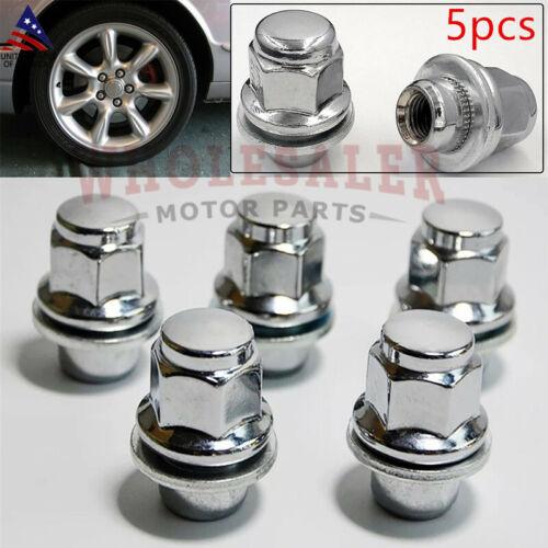 Set 5x NEW Lug Nuts For Jaguar S-Type X-Type XJ XJR XF 1999-2011 C2C35294010