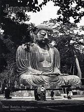 TRAVEL TOURISM JAPAN GREAT BUDDHA STATUE KAMAKURA BUDDHISM TEMPLE POSTER LV4197