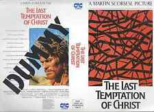 The Last Temptation Of Christ Video Promo Sample Sleeve/Cover #11362