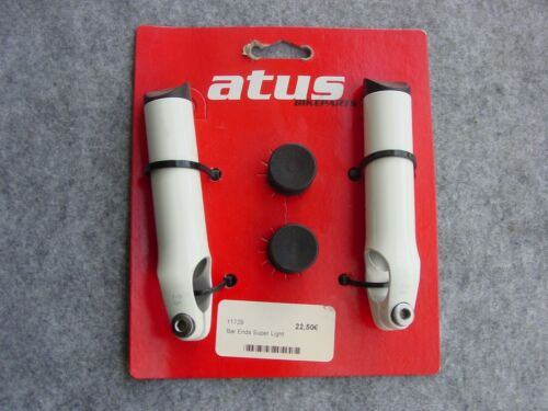 1 Paar Fahrrad Bar Ends Aluminium   Außenklemmung Lenkerhörnchen kurz