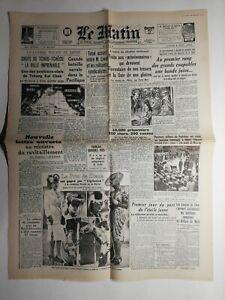 N446-La-Une-Du-Journal-Le-Matin-8-juin-1942-chute-de-tchou-tcheou