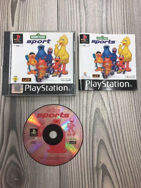 *** Sesamstraße Sport *** PlayStation 1 PS1 PSX PS3 *** Komplett mit Anleitung