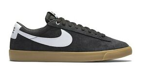low priced 4a985 22aa8 Image is loading Nike-BLAZER-LOW-GT-Black-White-Metallic-Gold-