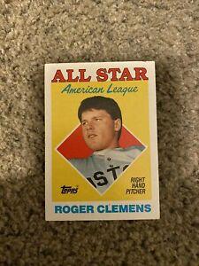 roger clemens baseball card