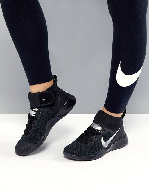 WOMENS NIKE AIR ZOOM SIZE STRONG 2 SELFIE SIZE ZOOM 6.5 EUR 40.5 (AH8195 001)BLACK /SILVER 81d244