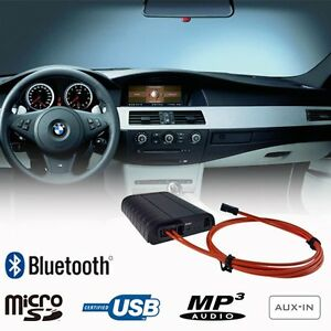 bluetooth music adapter bmw 5 series e60 e61 i drive. Black Bedroom Furniture Sets. Home Design Ideas