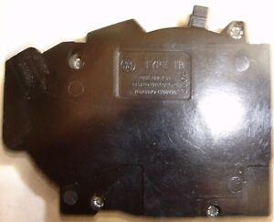 Obsolete GE TR1515 Tandem General Electric 15 amp GE Circuit Breaker