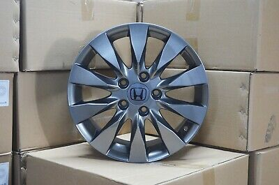 4 Wheels 16 Inch Gunmetal Rims Fits 5x1143 Et45 Honda Accord 2003 2007 Ebay