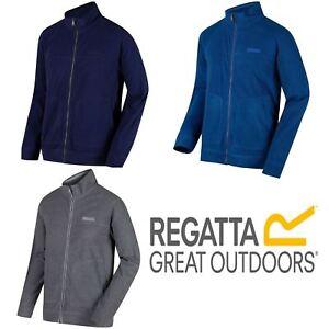 Regatta-Mens-Ultar-III-Full-Zip-Casual-Comfortable-Fleece-Jacket
