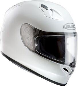 HJC FG-17 Pearl Weiß * Gr. L = 59-60 * Motorrad Helm FG17