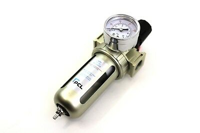"Pcl 1/2"" Air Filter Regulator Compressor afr1 For Air Tools Air Lines A Complete Range Of Specifications"