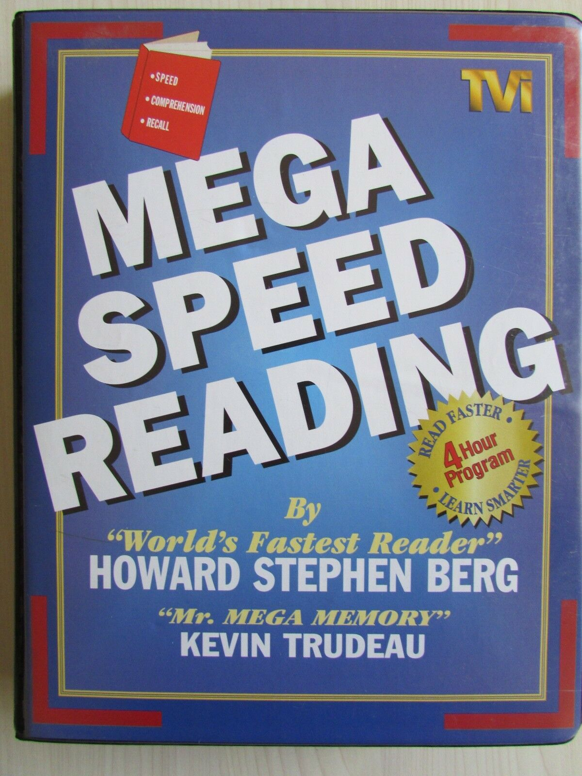 Mega Speed Reading Kit Set 6 x Cassettes + Video, Nr.Mint, Tested.