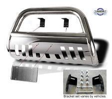 03 05 Dodge Ram 2500 3500 Chrome Guard Push Bull Bar In Stainless Steel Bumper Fits 2005 Dodge Ram 1500