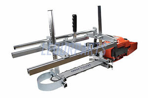 """Holzfforma Portable Chainsaw Mill Planking Milling Length 14"""" - 36"""" Guide Bar"""