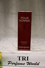 YSL POUR HOMME Yves Saint Laurent Eau de Toilette EDT Men Spray 3.3 oz. Sealed