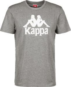meet fba01 f4323 Details about Kappa Estessi T-Shirt Grey with Logo 303LRZ0