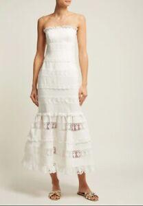 Zimmermann Wayfarer Panelled Dress