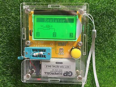 Transistor Tester TFT Diode Triode Capacitance Meter LCR ESR NPN PNP MOSFET  CP