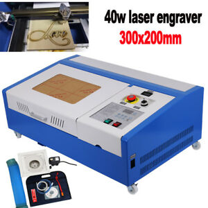 40W-Co2-Laser-Engraver-Lasergraviermaschine-Lasercutter-Engraving-Lasergravur