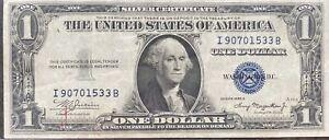USA-1-Dollar-1935-A-Silver-Certificate-One-Banknote-Schein-Gute-Erhaltung-21929