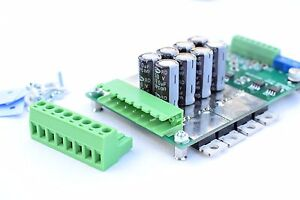 Details about 60A 6-50V robot Dual DC motor PWM Speed Controller H bridge  RS232 Arduino tank