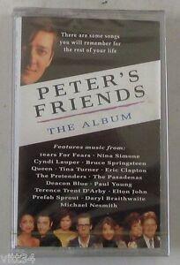 VARIOUS-ARTISTS-PETER-039-S-FRIENDS-THE-ALBUM-Cassette-Tape-MC-K7-Sigillata