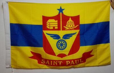 3/'X5/' drapeau bannière USA Utah Provo City Laiton Œillets 90*150cm
