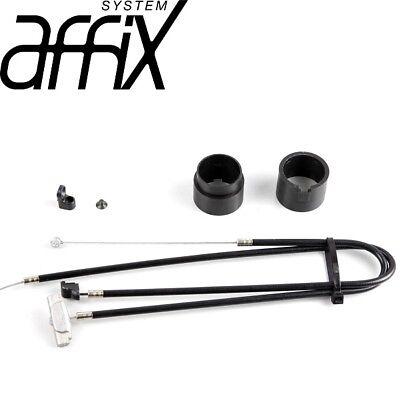 KHE AFFIX Rotor Set 450mm BMX Gyro Black Cable Detangler