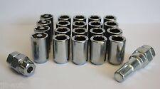 16 X M12 X 1.5 TUNER ALLOY WHEEL NUTS & LOCKING FIT TOYOTA PRIUS PICNIC RAV 4
