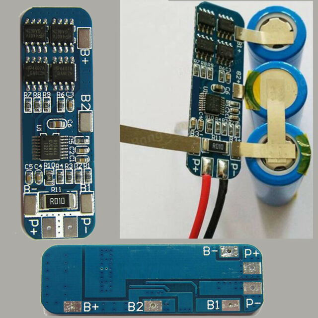 18650 Lithium Battery Charger Module Charging 12V Protection Board DIY Acces
