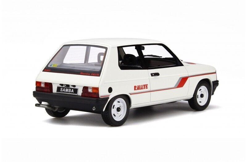 Otto Mobile Talbot Samba Rallye 1983 1 1 1 18 white dc841b