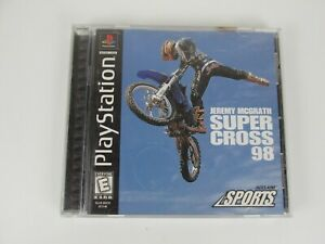 Jeremy-McGrath-Supercross-98-Playstation-PS1-Video-Game-Complete