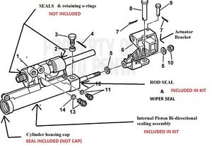 rack and pinion removal instructions