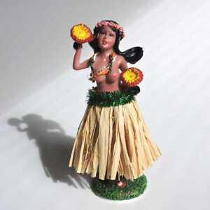 Hawaii Wackelfigur Hula Frau Auto Wackeldackel Dashboard Dolloben