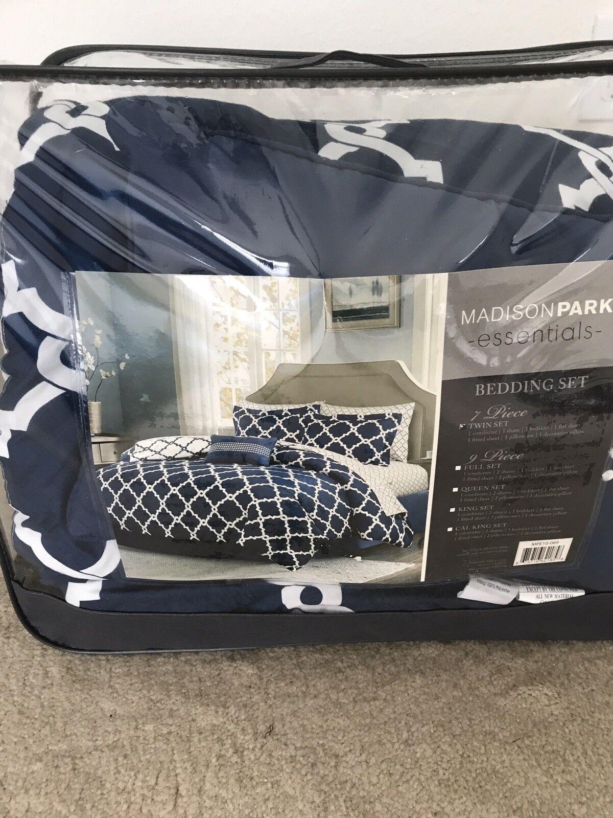 Madison Park Essentials 7 Piece Bedding Set