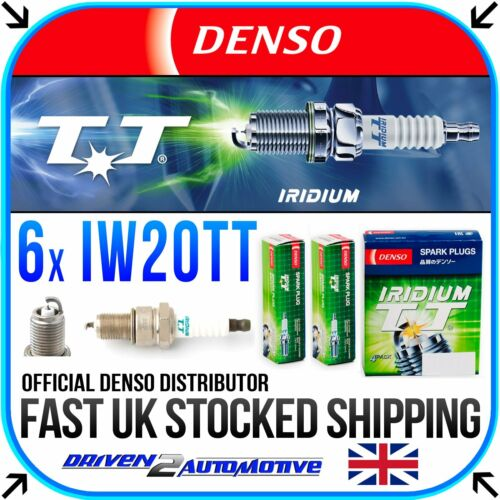6x denso IW20TT IRIDIUM TT Bujías Para Austin Princess 2200 HLS 04.76-09.78