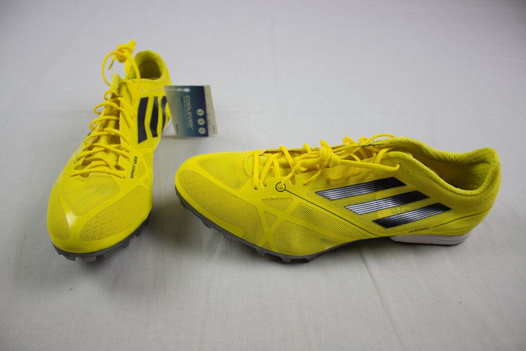 NEW adidas Adizero MD Cross 2 - Yellow Running, Cross MD Training (Men's Multiple Sizes) d74266